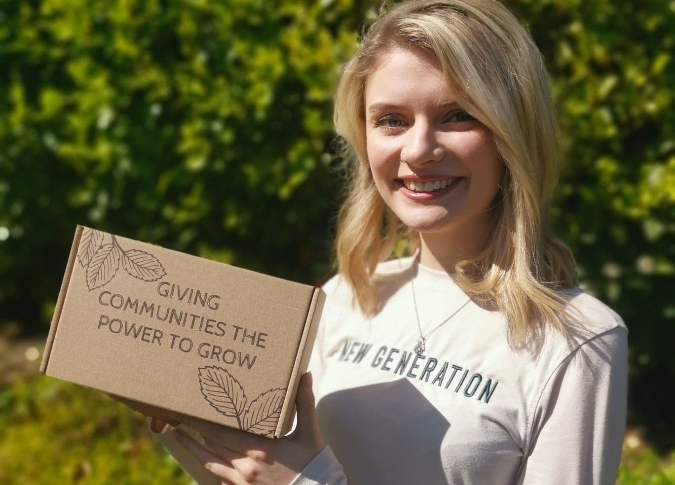 Cultivate Aberdeen volunteer and Young Trustee, Emma Lawford