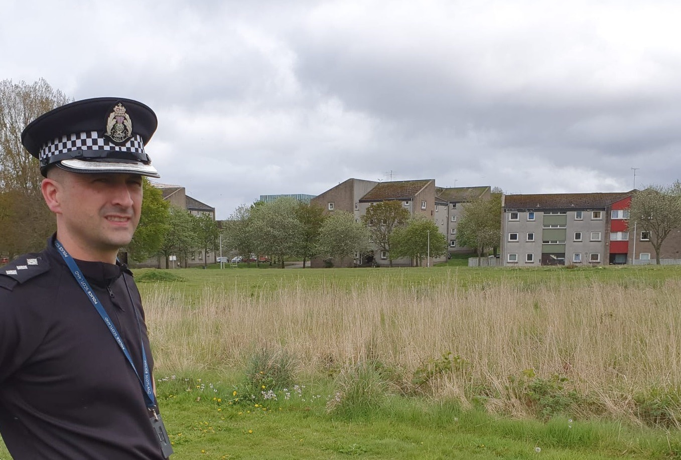 Chief Inspector Darren Bruce, local Area Commander for Aberdeen North