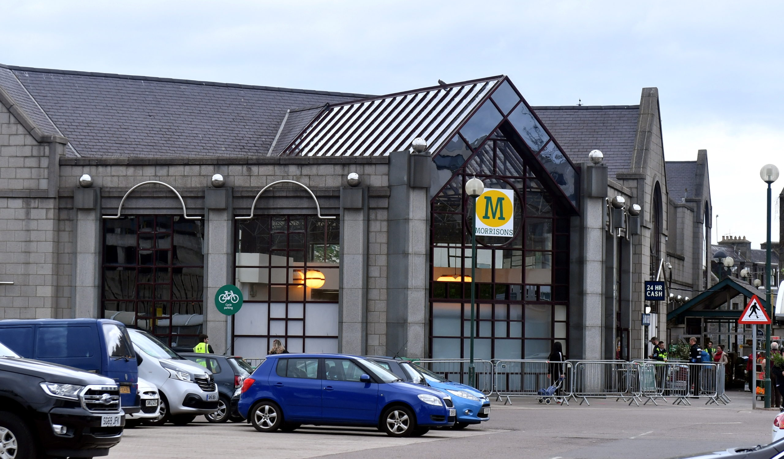 The alleged incident happened at Morrisons on King Street.