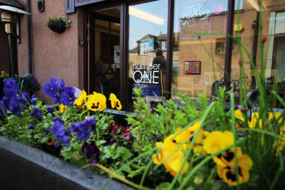 Banchory Hub's Number One cafe