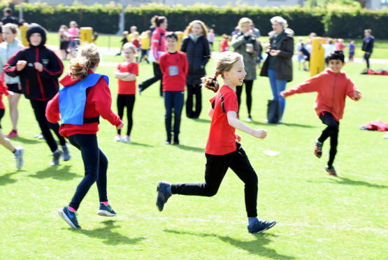 Last year's primary Festival of Sport at ASV. Picture by Jim Irvine