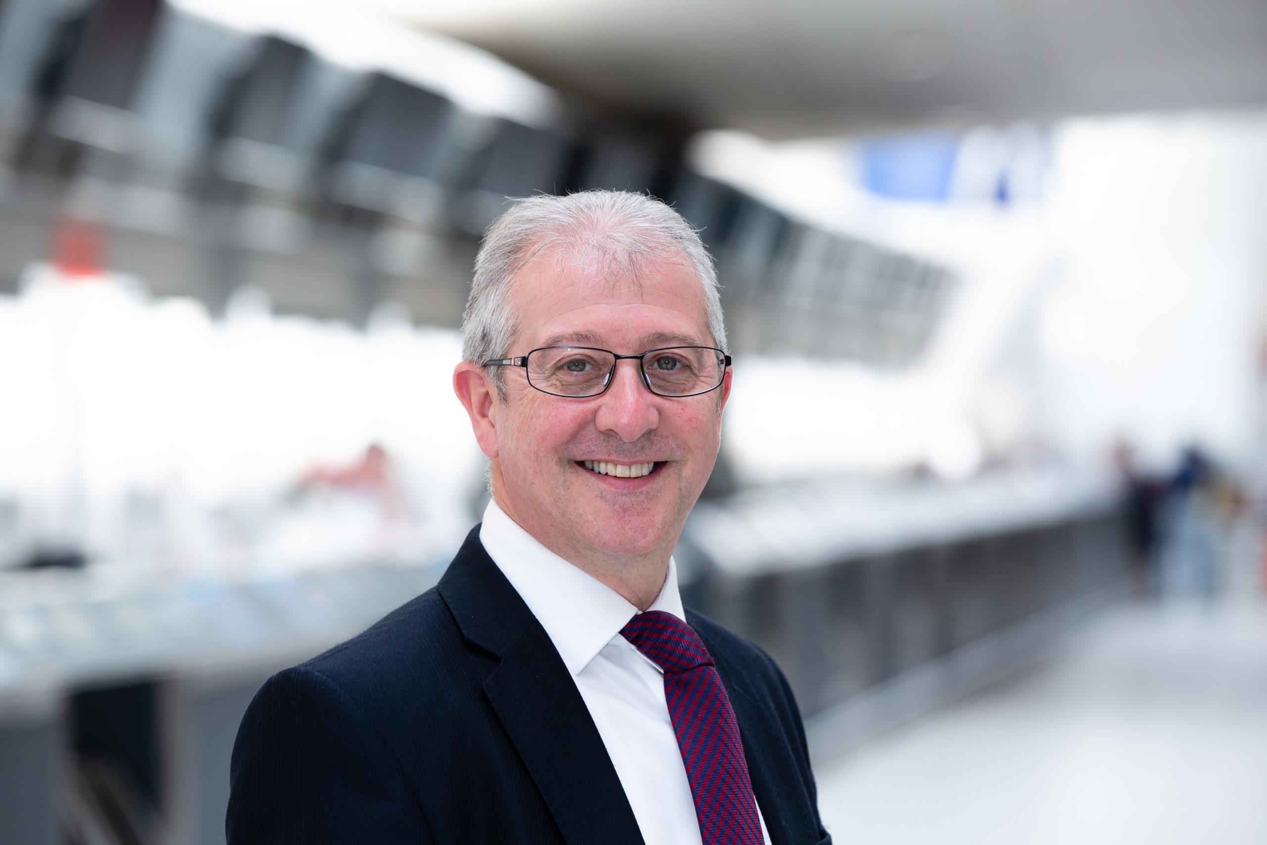 Roger Hunt is the new interim managing director of Aberdeen International Airport