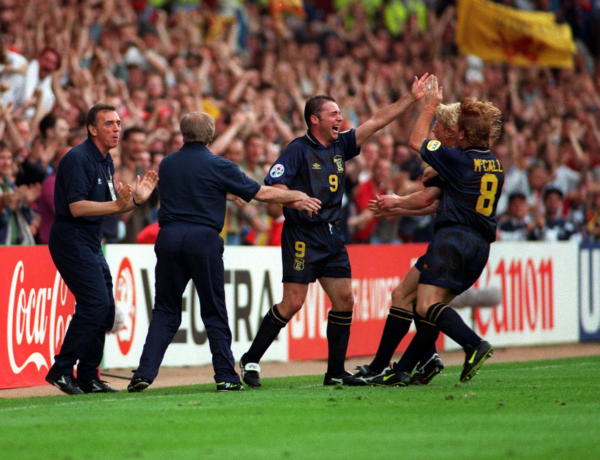 Scotland thought Ally McCoist's goal against the Swiss was enough.