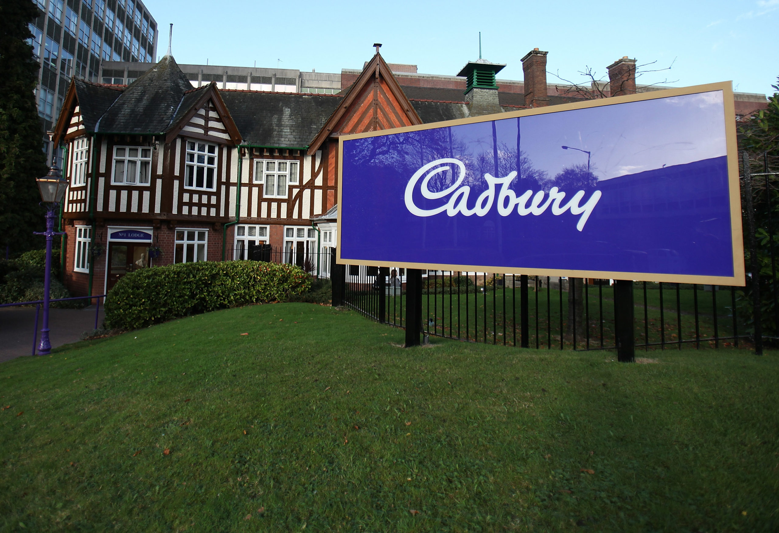The Cadbury's factory in Birmingham
