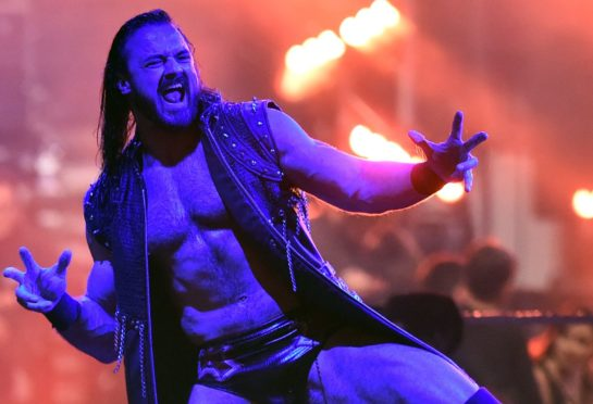 Drew McIntyre became the first British wrestler to win the WWE title.