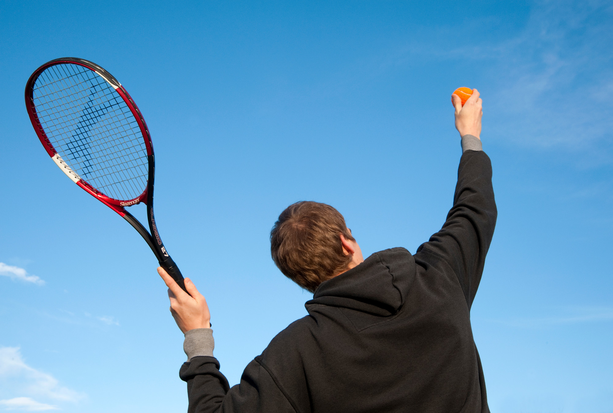 North-east residents are reminded they can book tennis courts
