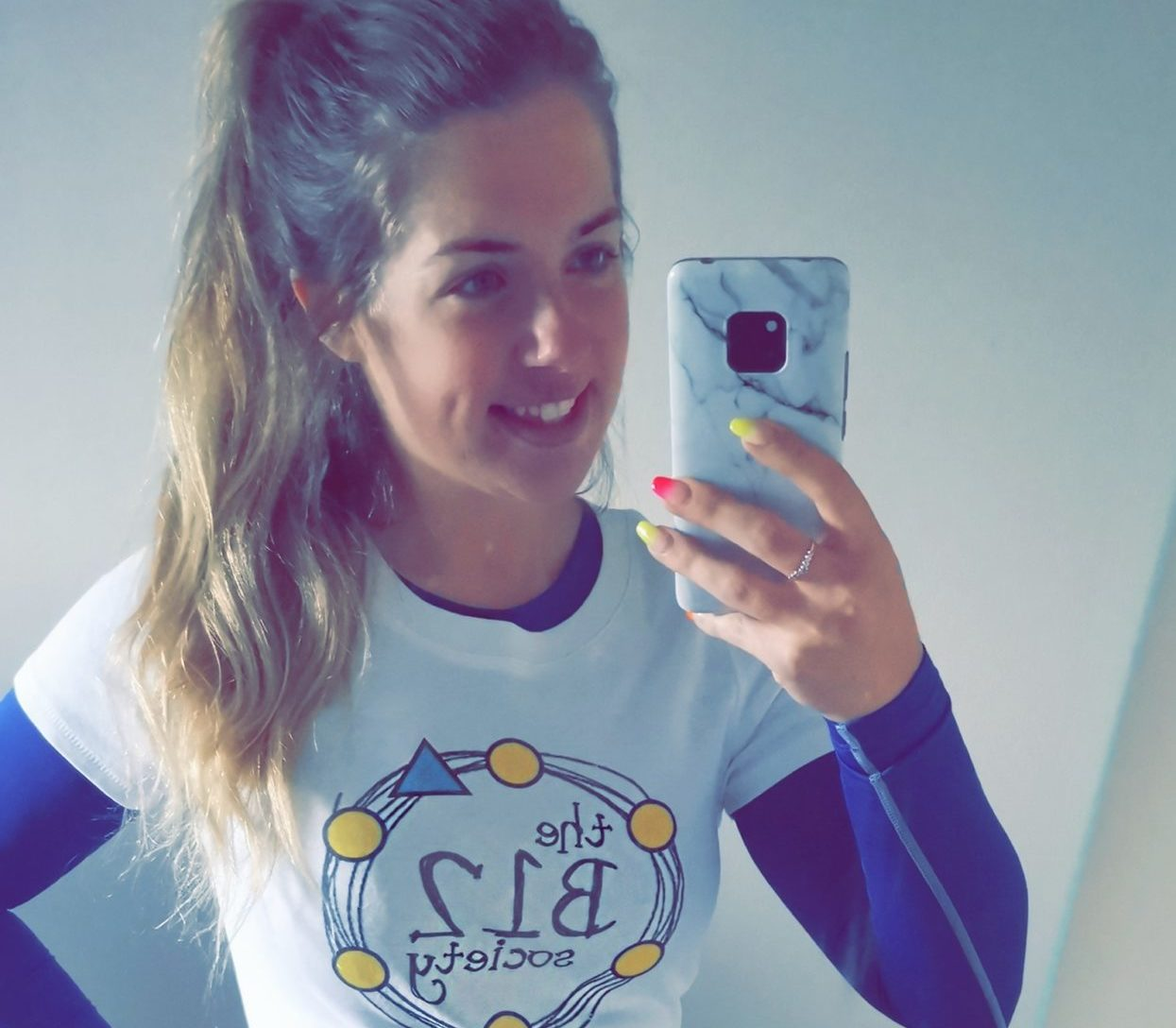 Vikki McIntee carried out a 100 mile running challenge