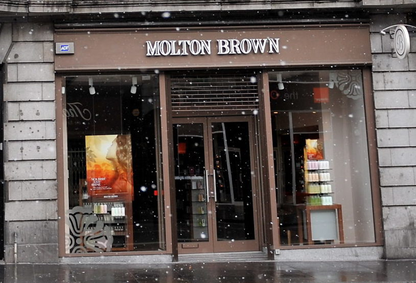 Molton Brown on Union Street is to close