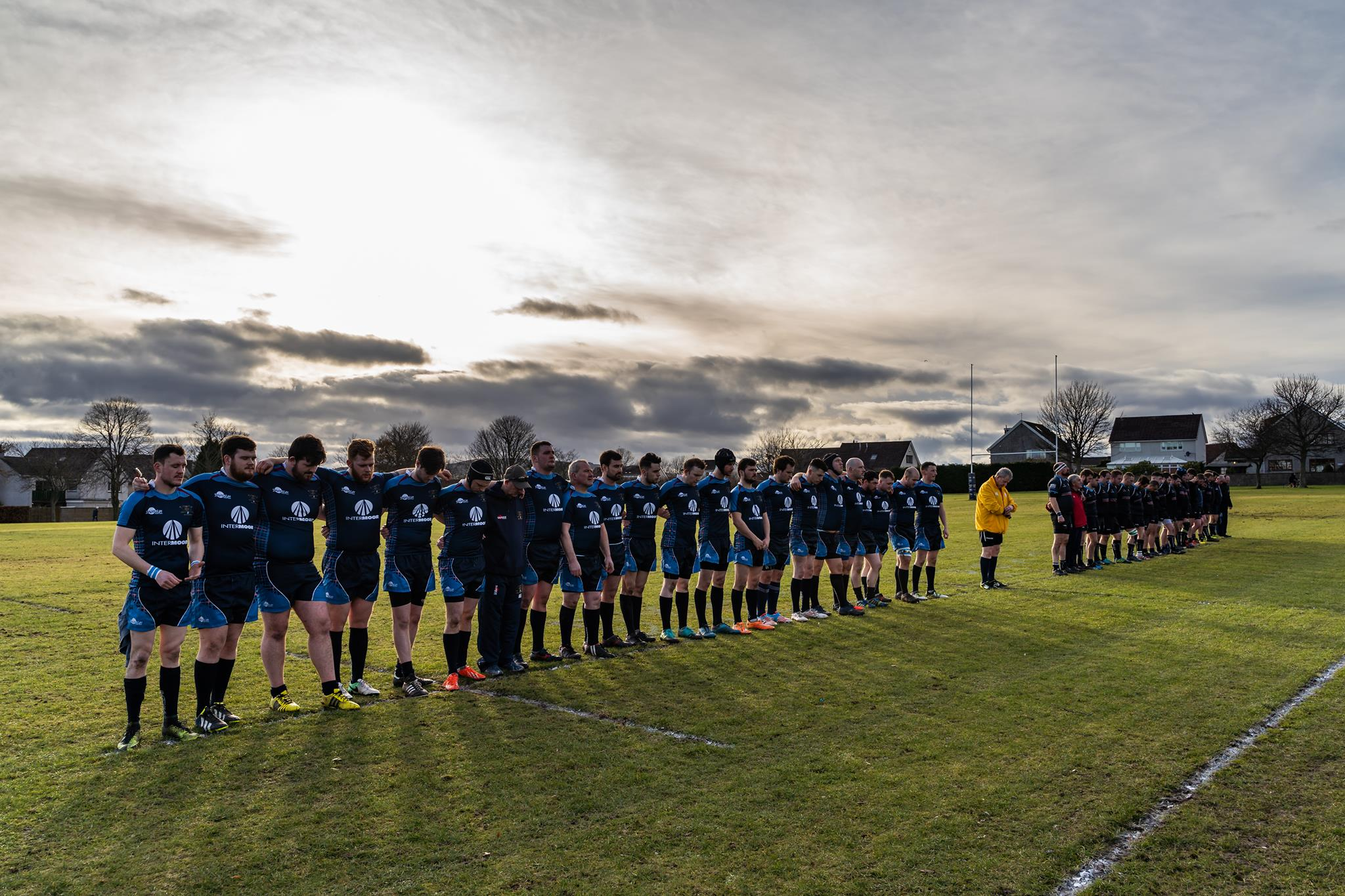 Dyce Rugby Club has raised more than £1,000 for the Dyce Food Bank