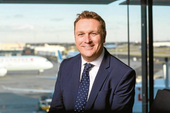 AGS airports chief executive Derek Provan