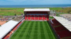 A player at Aberdeen was announced to have tested positive for Covid-19 yesterday