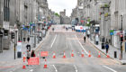 The city centre is one of the areas with no Covid-19 deaths in Aberdeen