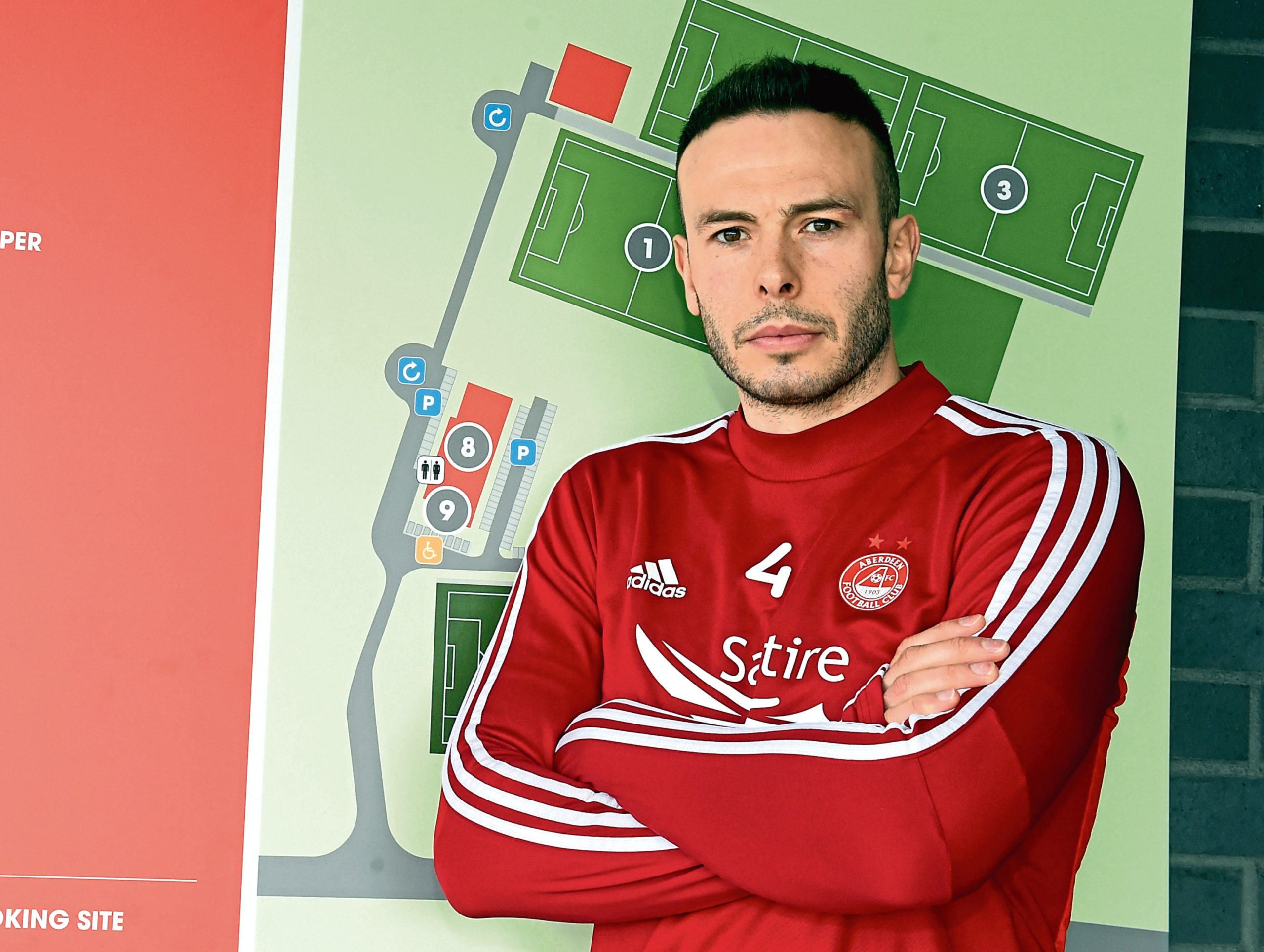 Andy Considine has been an ever-present for Aberdeen.