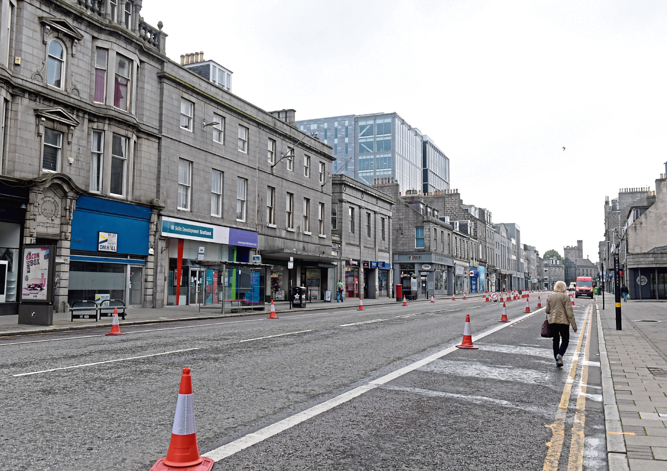 Businesses have applied for outdoor seating permits on Union Street