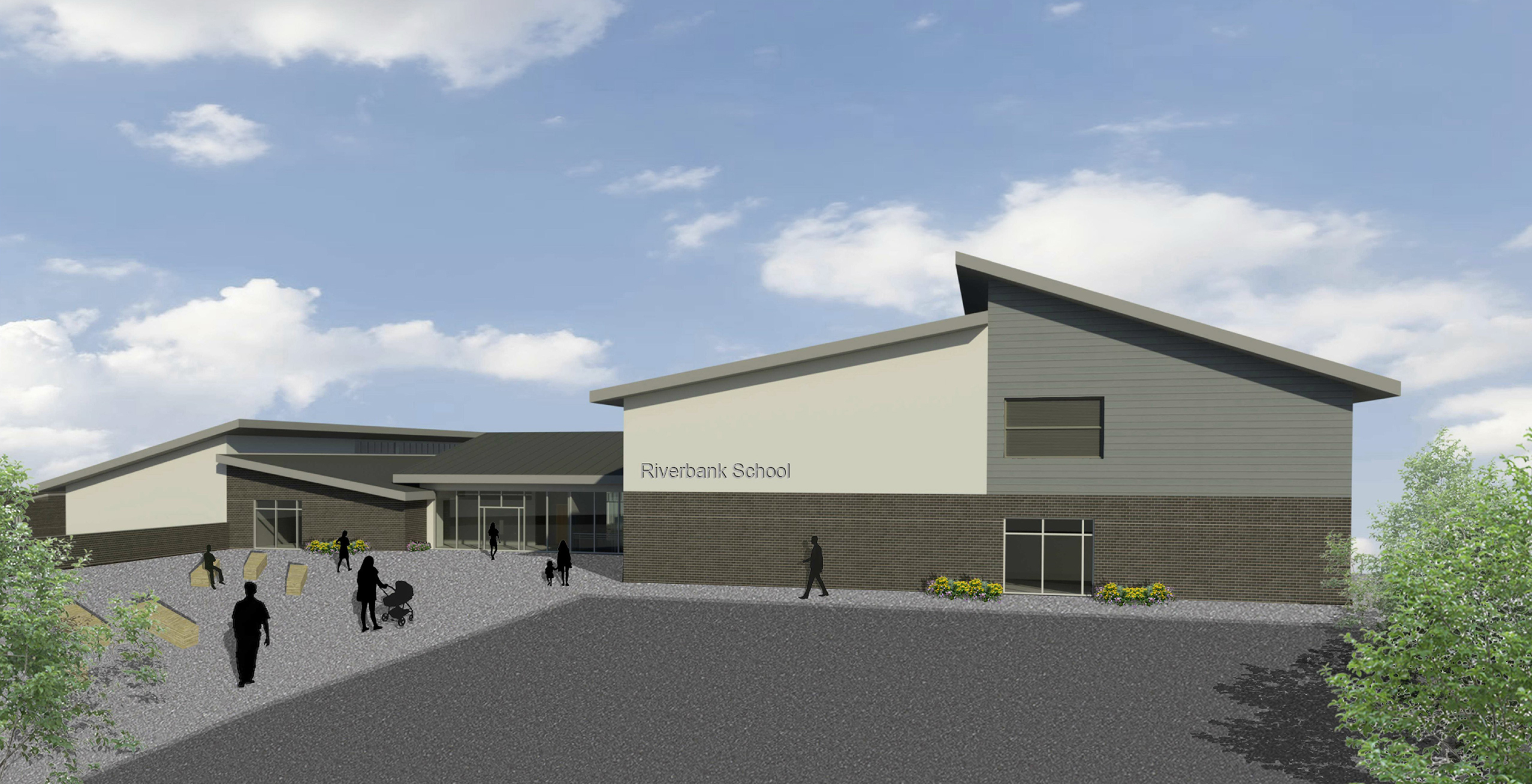 An artist's impression of the new primary school in Tillydrone