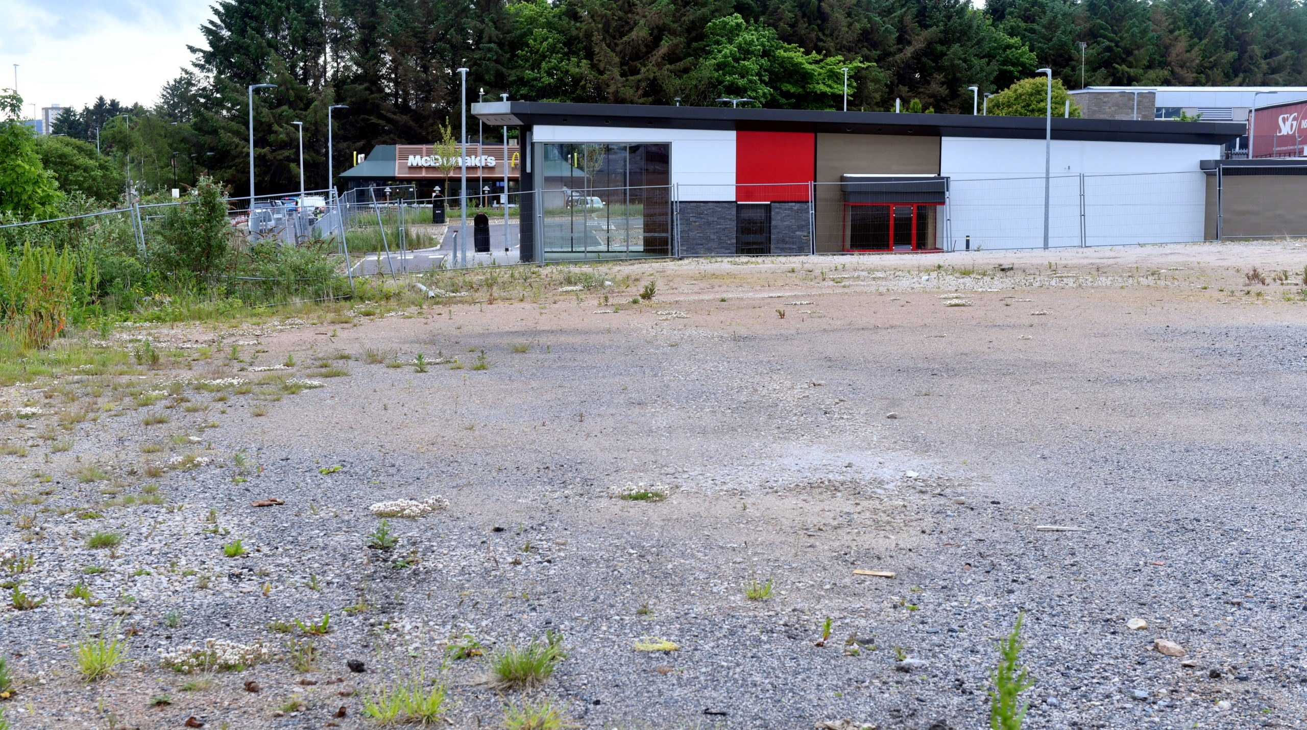 Kemble Estates hoped to build a drive-thru coffee shop to be occupied by Starbucks in Bridge of Don