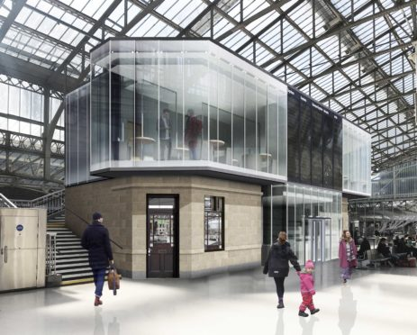 How the new concourse could look at Aberdeen train station