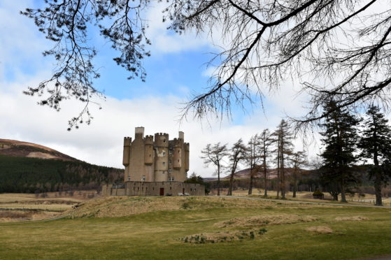 It was hoped the renovation of Braemar Castle could begin earlier this year. Picture by Kenny Elrick