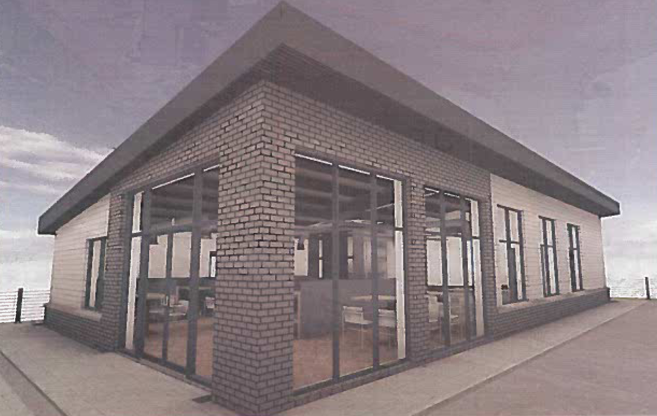 How the proposed shop near Blackburn could look