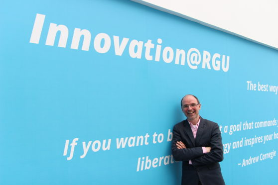 Chris Moule, head of the entrepreneurship and innovation group at RGU