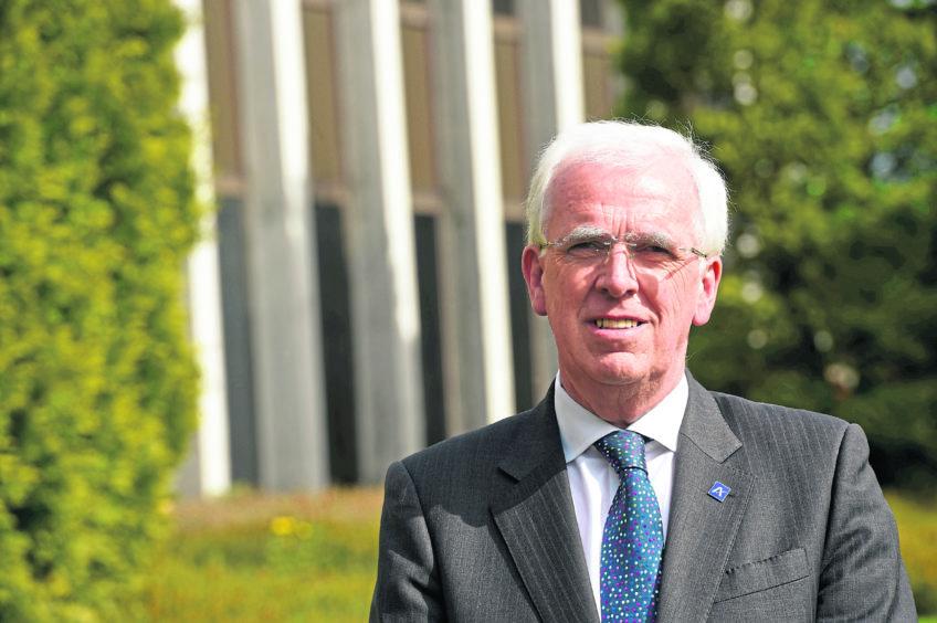 Finance boss Alan Wood