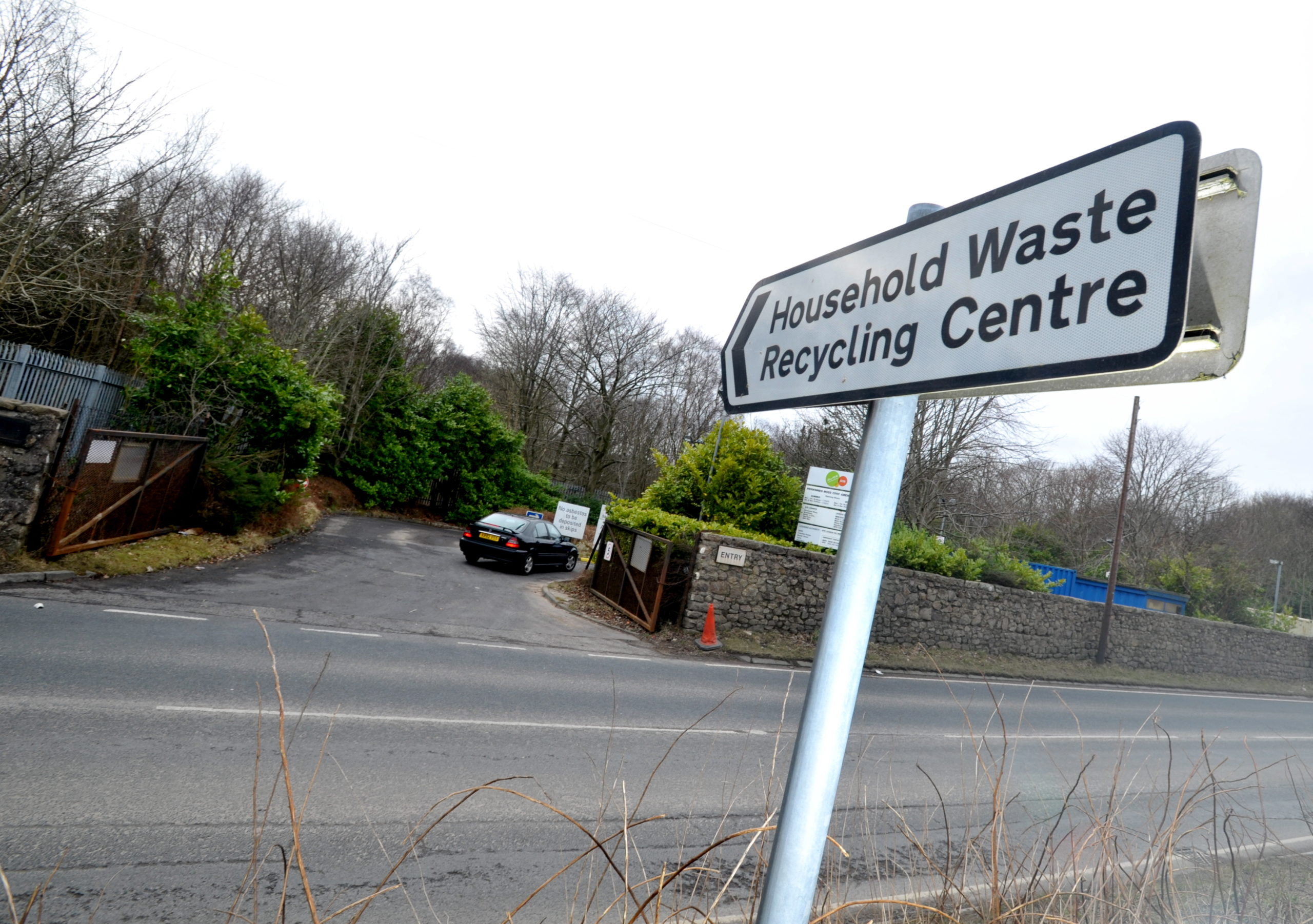 Aberdeenshire Council will be accepting trade waste next week