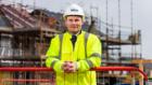 Darren Ferguson, senior site manager at the housebuilder's Dunnottar Park development in Stonehaven