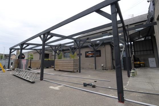 The Square in Kintore has been shut temporarily