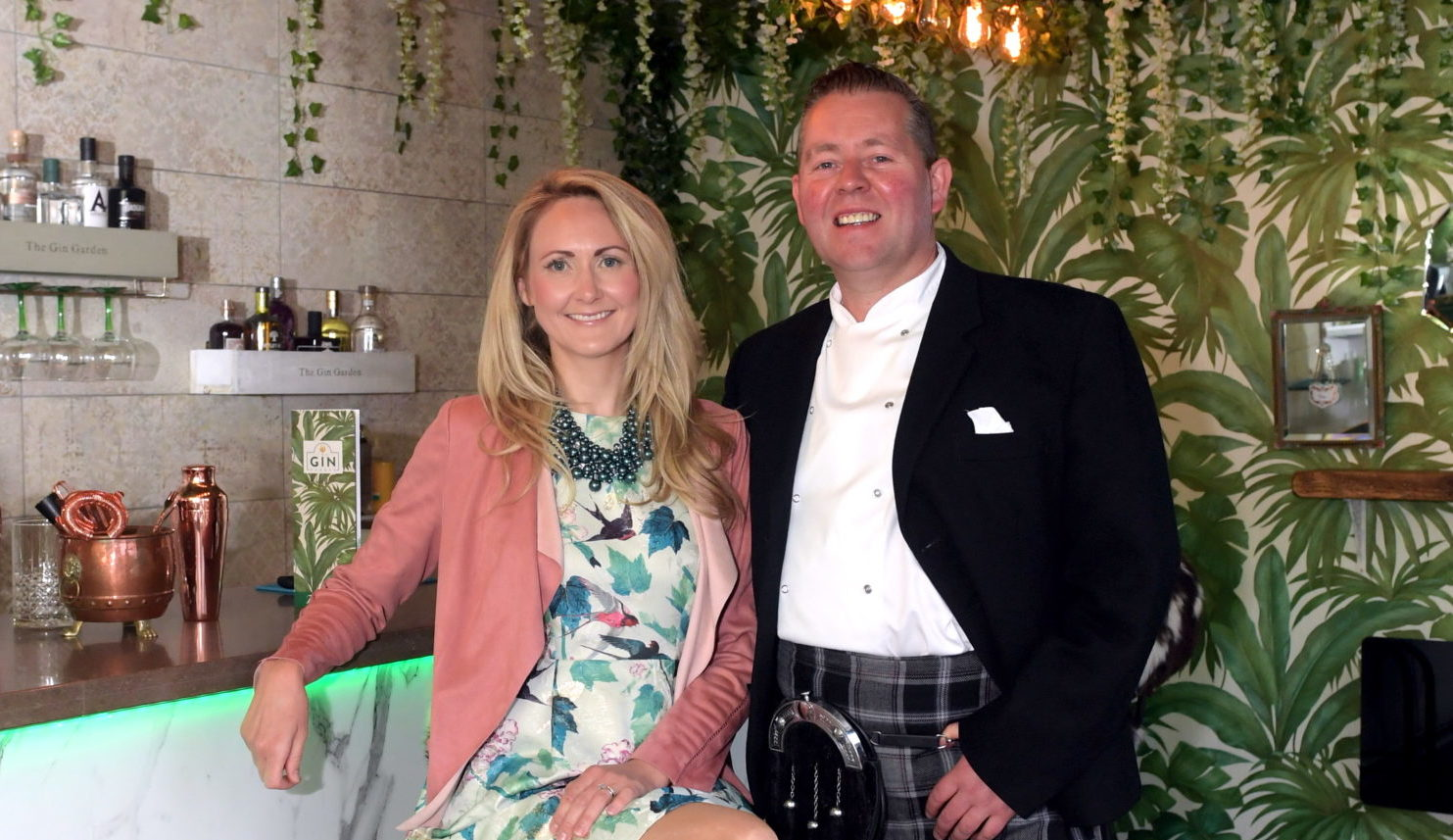 Lindsay and Craig Wilson, owners of Eat on the Green