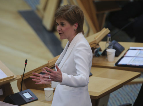 Nicola Sturgeon announced Scotland would move to phase three of the route map out of lockdown.