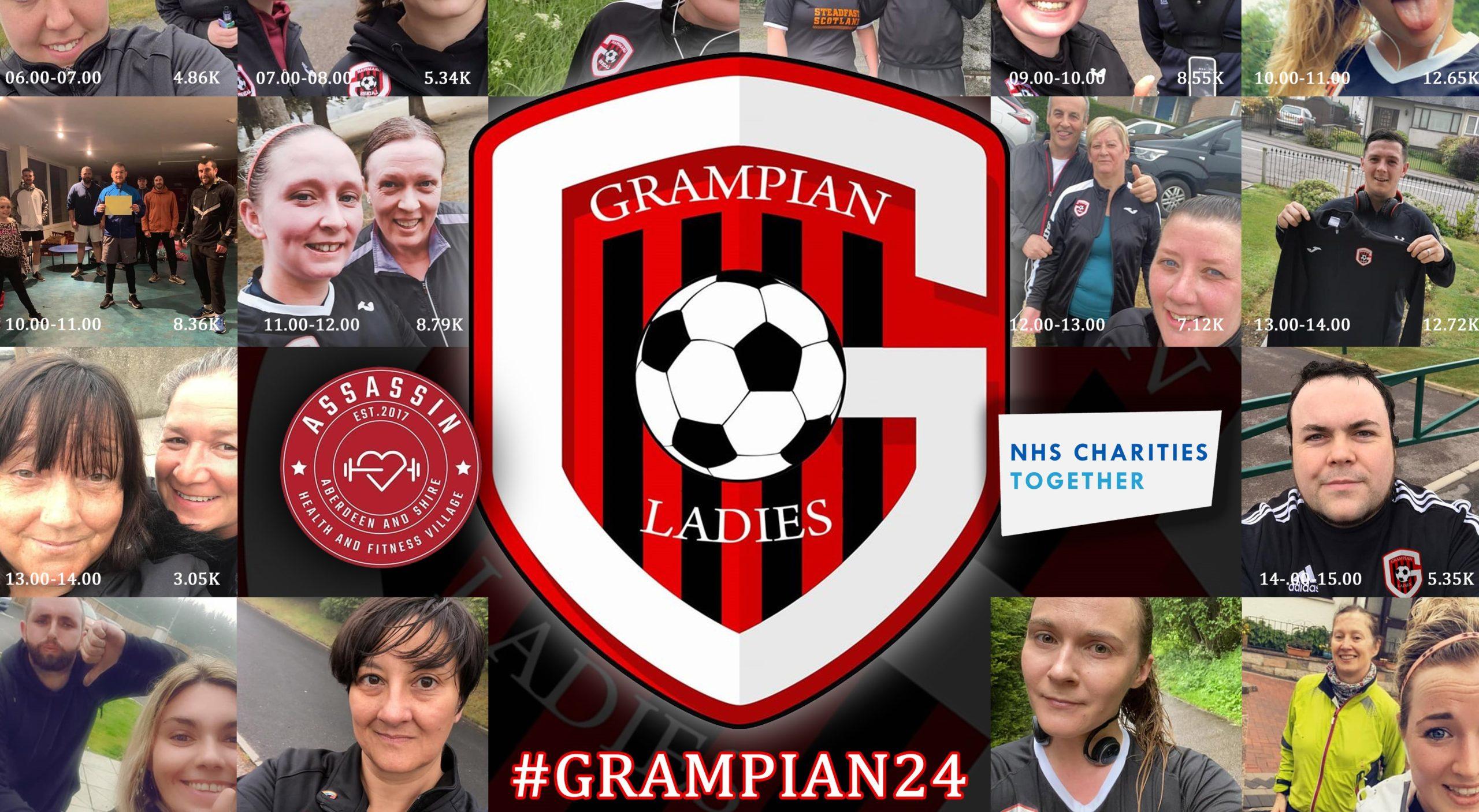 Grampian Ladies FC have raised more than £2,000 so far