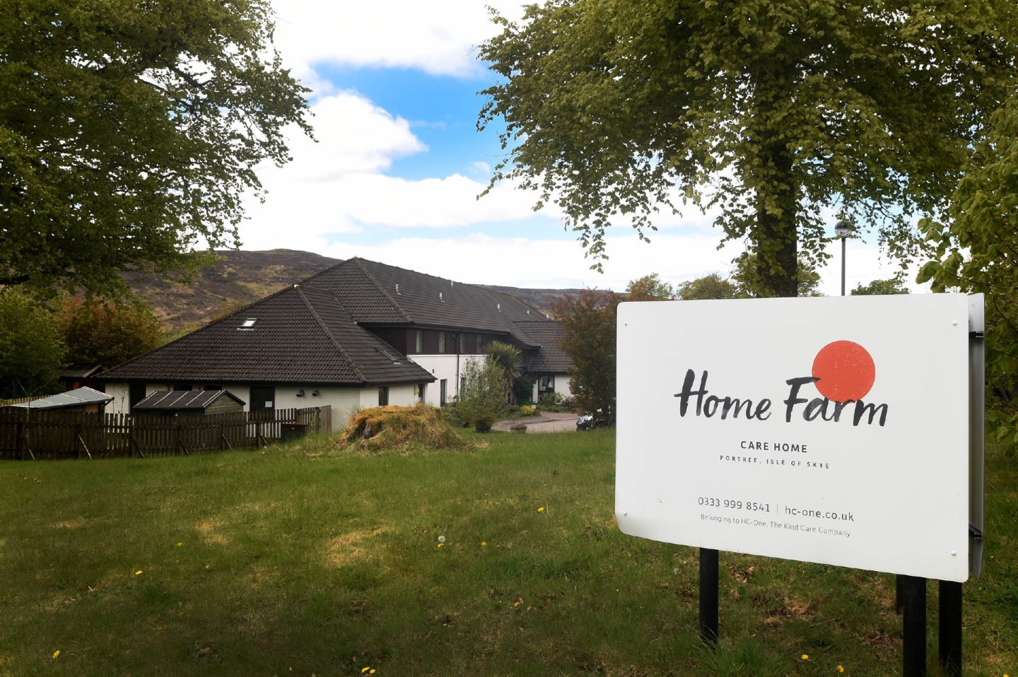 Home Farm Care Home in Portree, Skye.