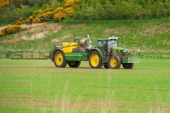 The app aims to make it easier for farmers to perform routine checks on their tractors. Picture: Kim Cessford