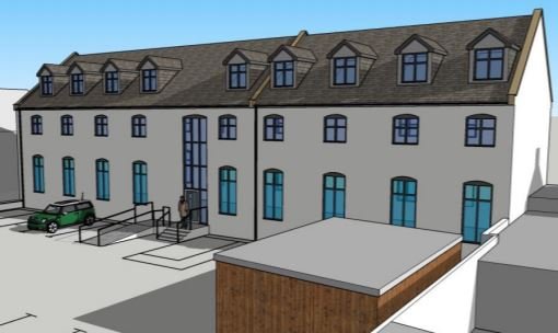 How the old British Legion in Macduff could look