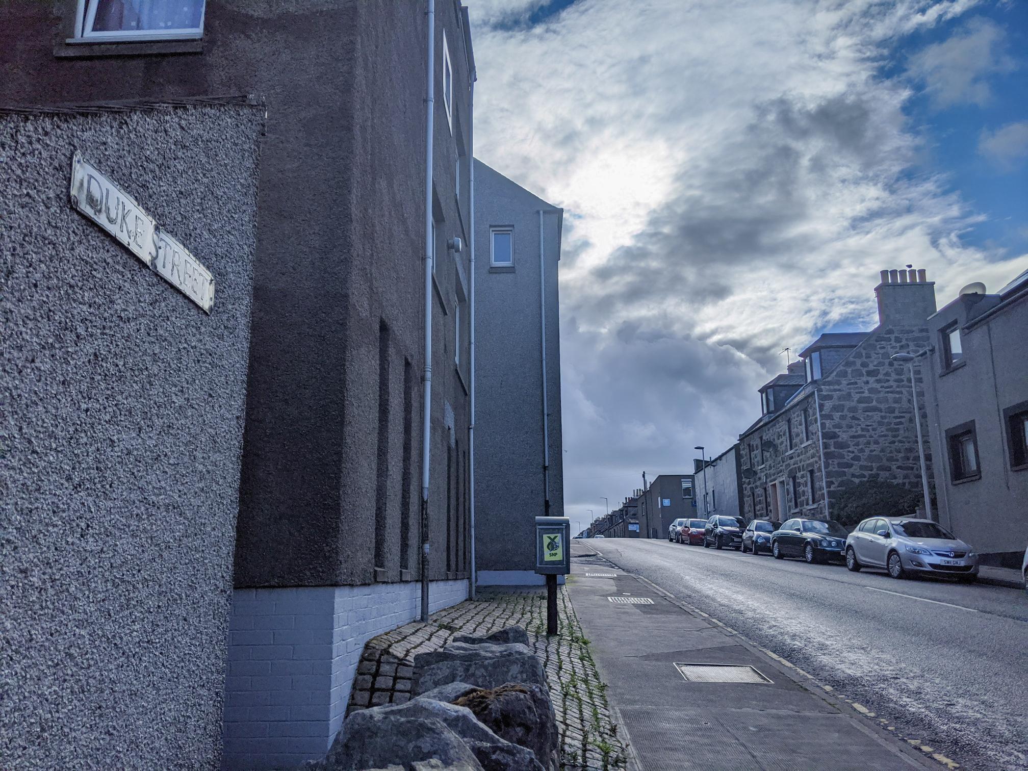 Duke Street, Fraserburgh.