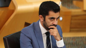 Justice Minister Humza Yousaf says Scottish Government will consider pausing Premiership season following fresh Covid rules breach
