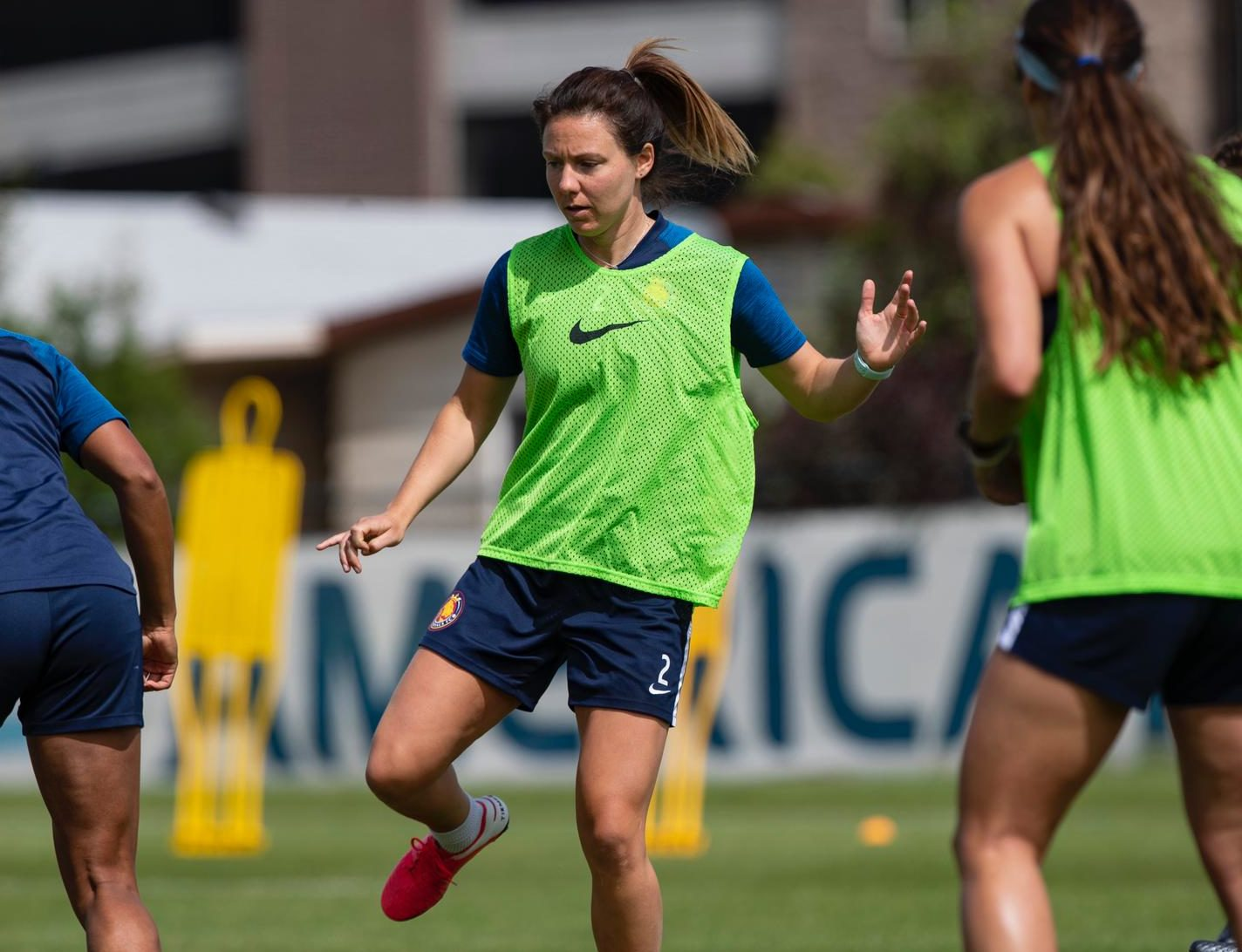 Utah Royals are back in training.