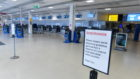 Passengers travelling through the airport will be asked to wear facial coverings and staff will get PPE