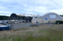 The main arena at the former Aberdeen Exhibition and Conference Centre. Picture by Chris Sumner