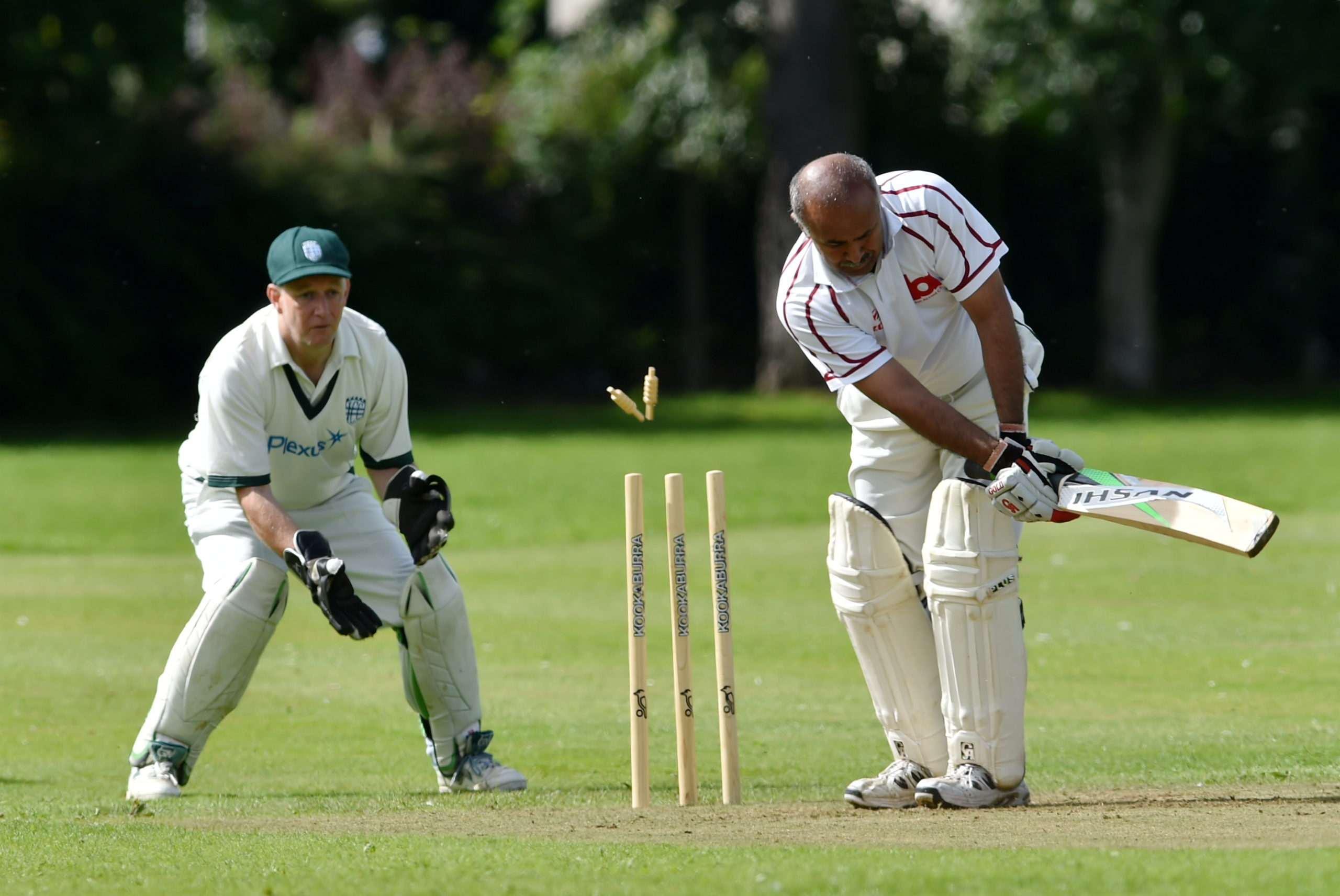 Tauqeer Malik has been bowled out... with the rest of the north-east cricketing community!