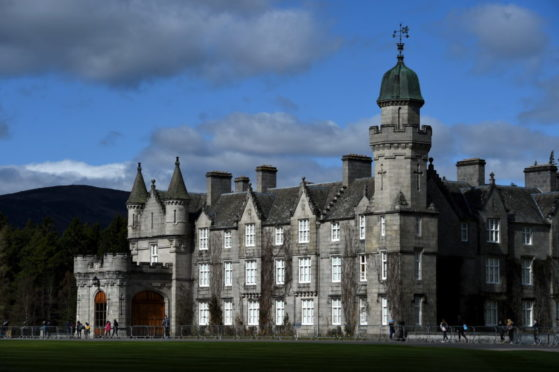 Balmoral Castle. Picture by Kenny Elrick