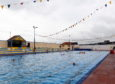 Stonehaven's open air pool usually opens between the end of May and the start of September. Picture by Scott Baxter