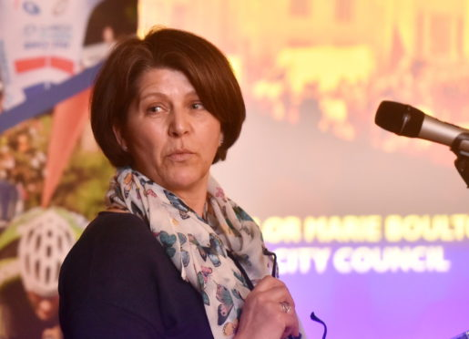 Marie Boulton was found to have breached ethics guidelines by disclosing budget information
