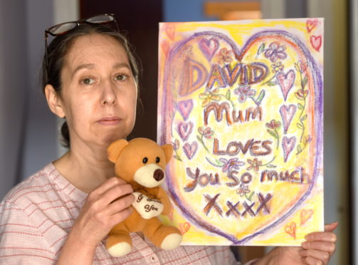David's mum Alex hopes to form a support group in his memory