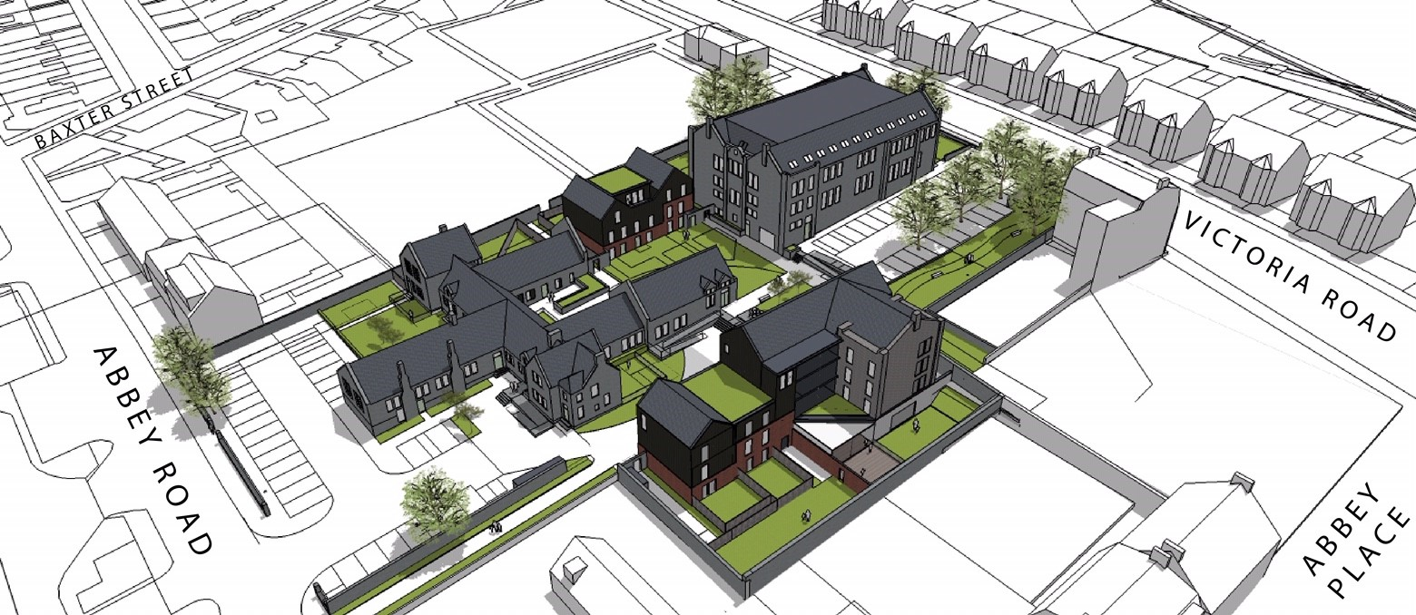 An artist's impression of the approved development at the Victoria Road School site