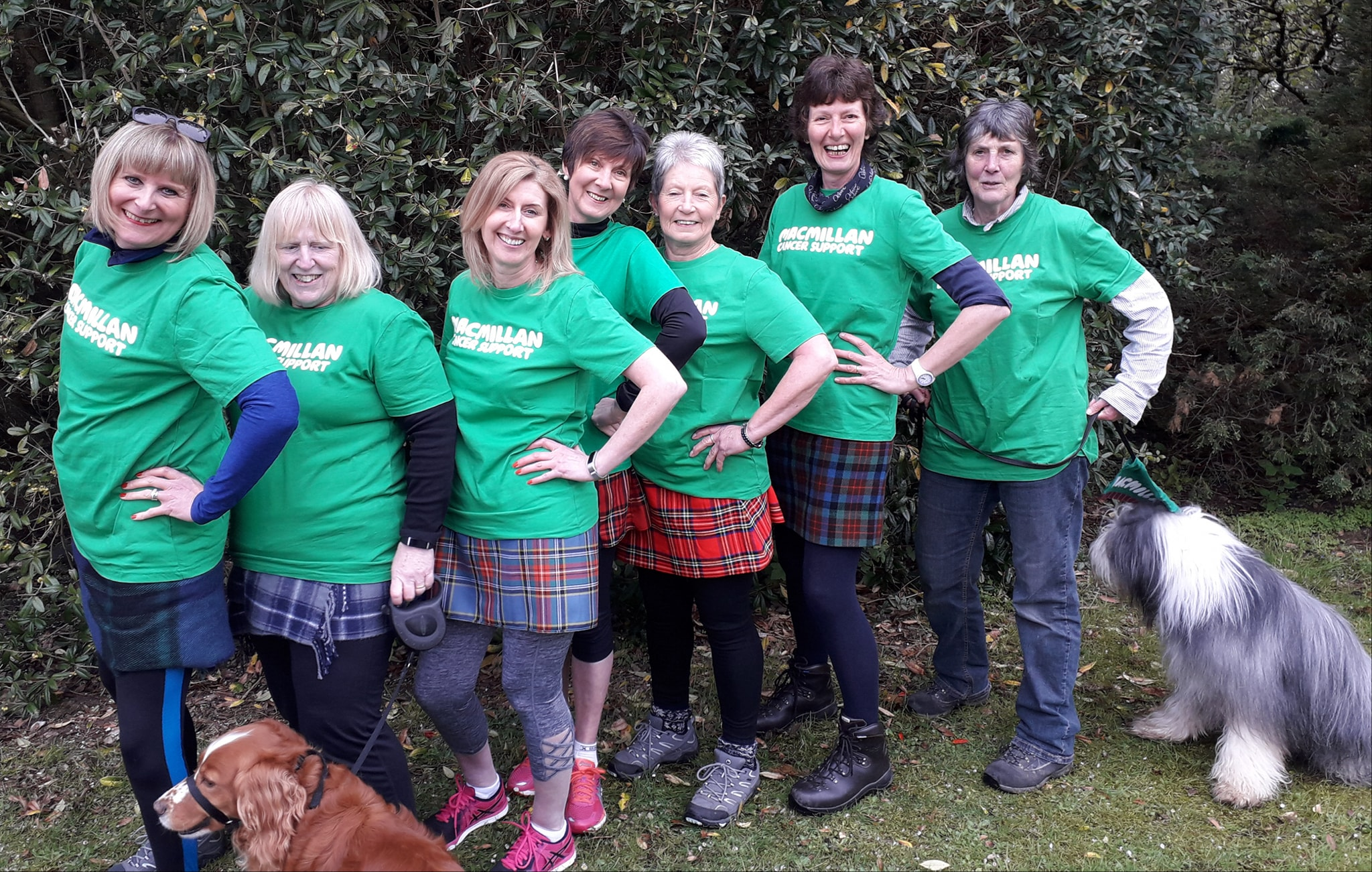 The Skene fundraising group have raised more than £310,000 for charity