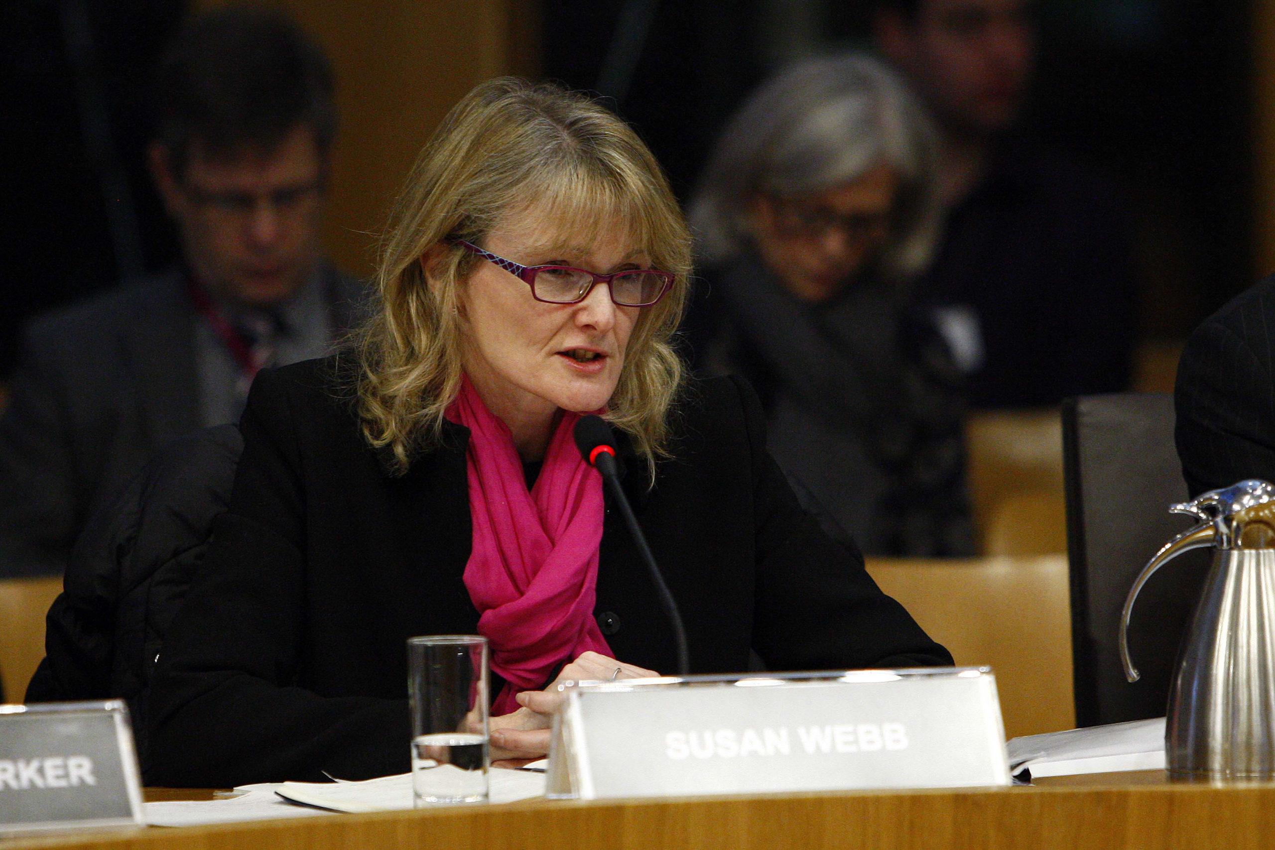Susan Webb, Director of Public Health, NHS Grampian