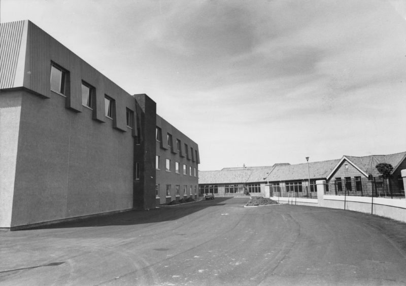 A dedication ceremony of the extension at Torry Academy in Aberdeen  took place in 1979