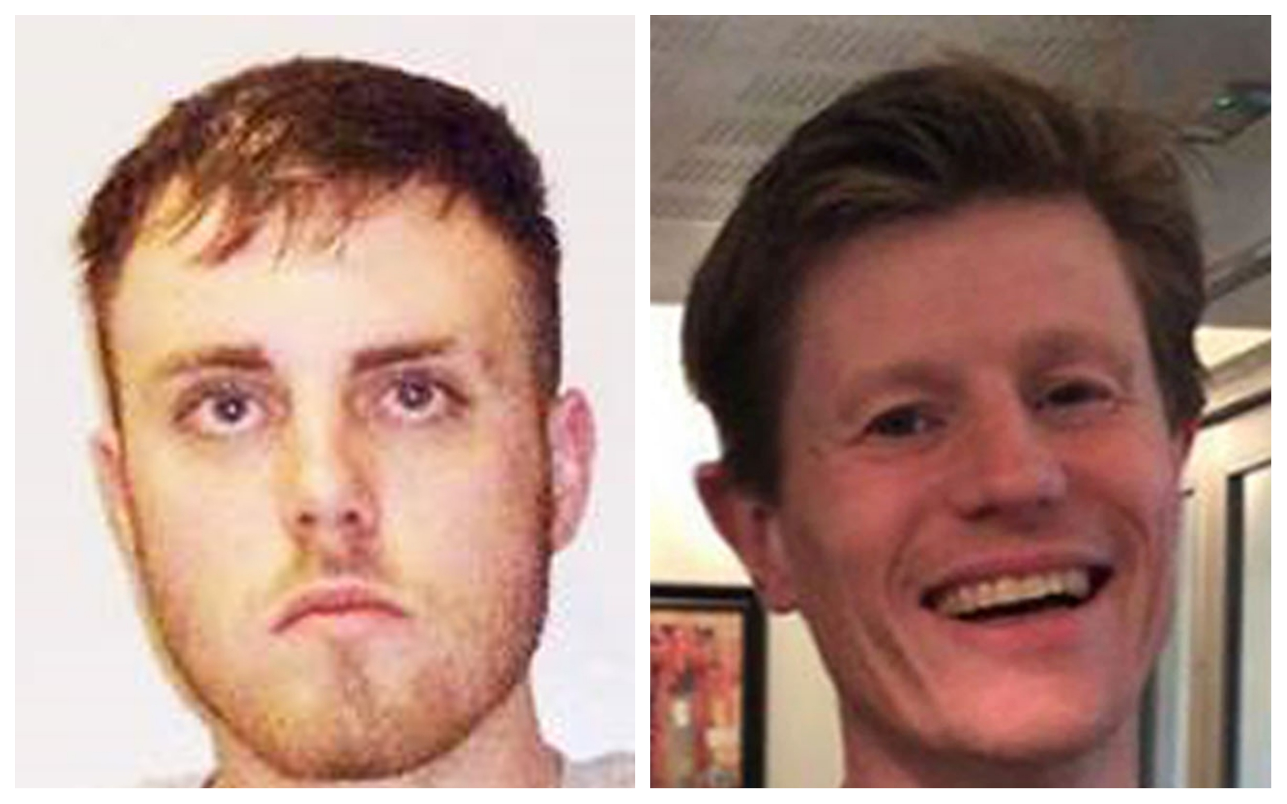 Liam Hay, left, admitted murdering father-of-two Anthony McGladrigan during a drug-fuelled attack at his home