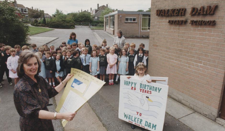 Walker Dam Infant School in 1991